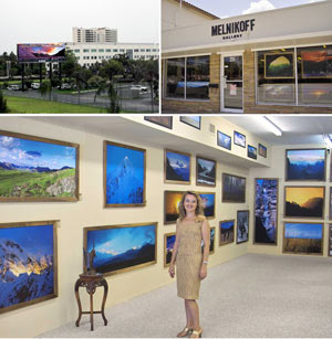 Melnikoff Gallery in South Florida.