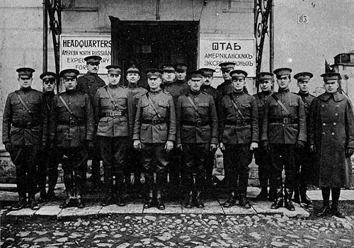 First Military Americans in the Soviet Russia.