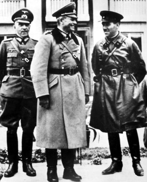 Nazi and Red Army.